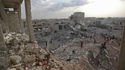 Al menos 10 civiles murieron en un bombardeo en el noreste de Siria