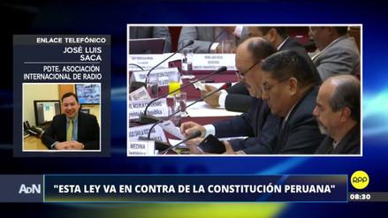 """Asociación Internacional de Radio: """"Ni en Venezuela hay una ley que prohíbe publicidad estatal en los medios"""""""