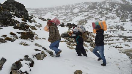 Más de 56,000 afectados por bajas temperaturas en 11 regiones del país