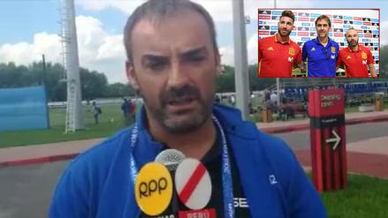 Periodista español: