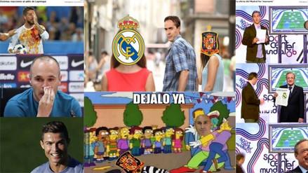 Lopetegui protagonizó los memes luego de su polémica salida como DT de España