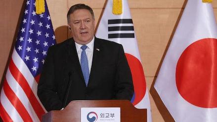 EE.UU. quiere un desarme completo de Pyongyang, aseguró Mike Pompeo