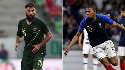 Francia vs. Australia EN VIVO: horario, fecha y canal del partido por el Grupo C