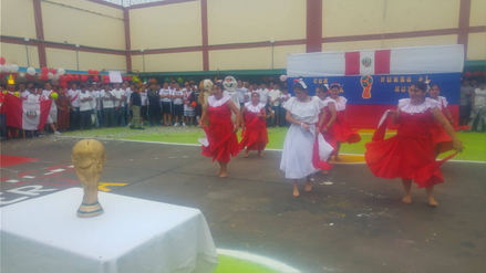 Internos de penal festejan el inicio del Mundial y el Día del Padre