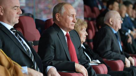 Rusia 2018 | Así vivió Vladimir Putin el triunfo de Rusia en el partido debut del Mundial