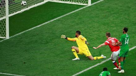 Rusia 2018   Cheryshev estableció un récord en la historia de los mundiales con su gol a Arabia Saudita