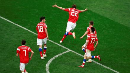 Los récords que la Selección de Rusia rompió en su debut en la Copa del Mundo