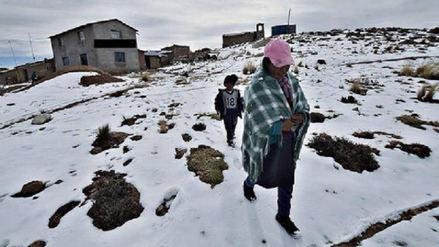 Piden incluir a 3 distritos más en declaratoria de emergencia por heladas
