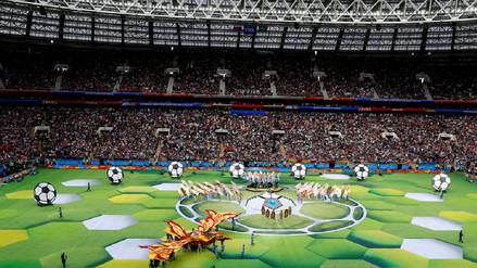 Inauguración del Mundial Rusia 2018 : ¡Música y color! Así se vivió