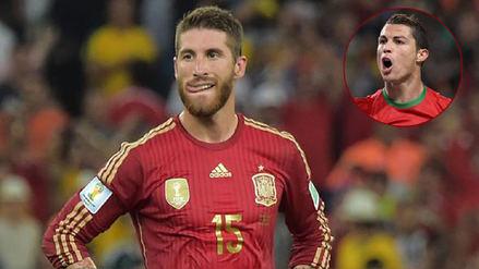 Sergio Ramos sobre Cristiano Ronaldo: