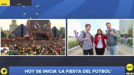 Mundial Rusia 2018   Rusos en Saransk alentaron a la Selección Peruana
