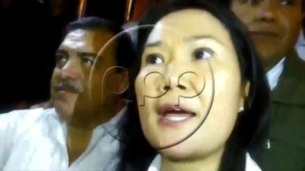 """Keiko Fujimori sobre suspensión de Kenji: El Congreso """"no se casa con la corrupción"""""""