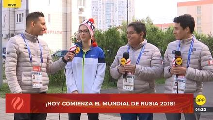 Hincha rusa y sus deseos para el Perú en el Mundial