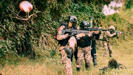 Las Fuerza Armadas muestran su talento con el balón en saludo a la Blanquirroja
