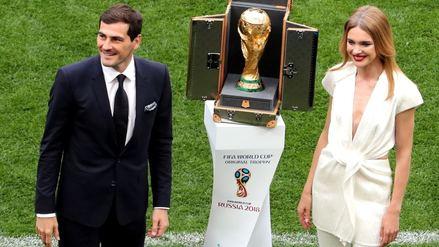 Rusia 2018 | Iker Casillas presentó la Copa del Mundo en la inauguración del Mundial