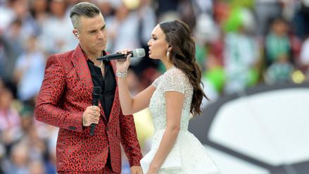 Rusia 2018: Robbie Williams y Aida Garifullina encantaron con