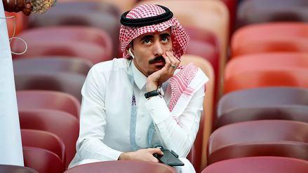 Fotos   La decepción de los hinchas de Arabia Saudita tras la goleada ante Rusia