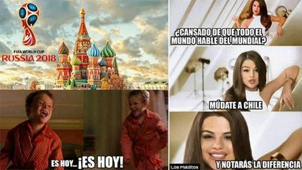 Los mejores memes por la inauguración del Mundial Rusia 2018