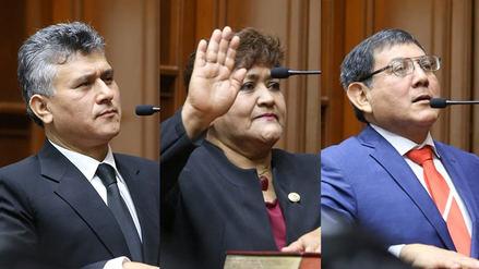 Los accesitarios de Kenji Fujimori, Ramírez y Bocángel asumieron sus cargos en el Congreso