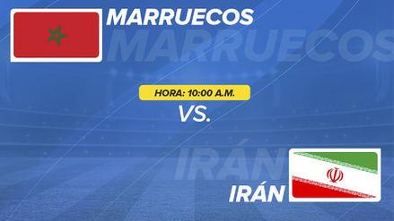 Marruecos vs. Irán EN VIVO EN DIRECTO: horarios y canales del partido