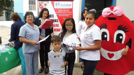 EsSalud Lambayeque rindió homenaje a donantes voluntarios de sangre