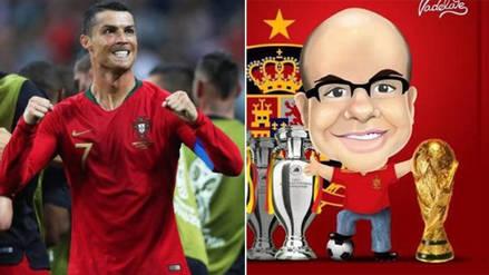 El emocionante elogio de Mister Chip a Cristiano Ronaldo tras triplete