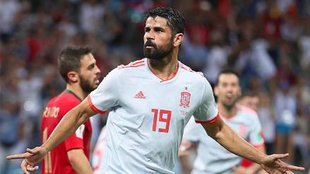 Diego Costa tras el España vs. Portugal: