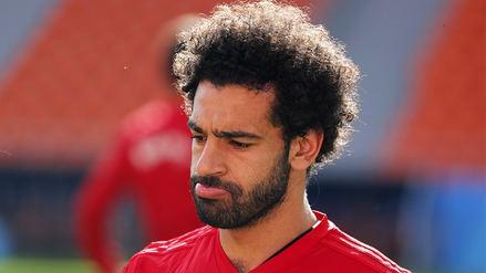 Mohamed Salah quedó fuera de la lista inicial para jugar ante Uruguay