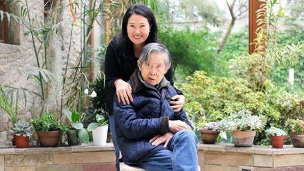 Keiko Fujimori compartió una foto con su padre tras conocer el fallo de la Corte IDH