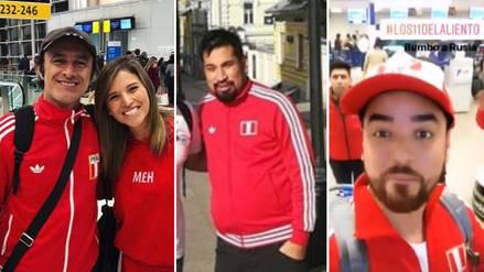 Perú vs. Dinamarca: Así viven los famosos peruanos la previa al partido en Rusia