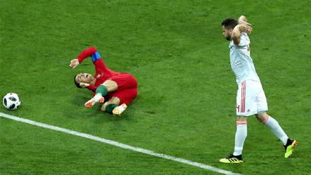 Cristiano Ronaldo y el polémico penal que acabó en gol de Portugal