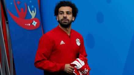 Mohamed Salah no ingresó en el Egipto-Uruguay por este motivo