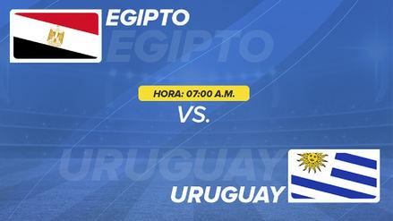 Uruguay 1-0 Egipto: resumen, resultado y goles