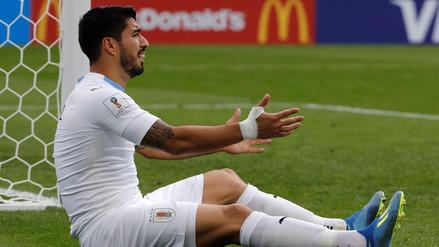 La gris vuelta de Luis Suárez al Mundial Rusia 2018 tras la mordida a Giorgio Chiellini