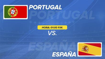 Minuto a minuto | EN VIVO España empató 3-3 con Portugal