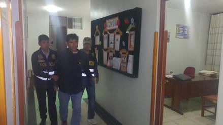 Chiclayo: detienen a implicado en incendio al municipio de Olmos