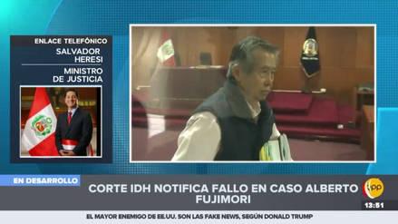 """Salvador Heresi: """"Es voluntad del Gobierno acatar el fallo de la Corte IDH"""""""