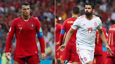 Cristiano Ronaldo y Diego Costa, duelo de goleadores en el Portugal vs España