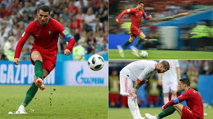 10 momentos de Cristiano Ronaldo ante España en Rusia 2018