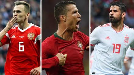 Rey Cristiano: los máximos goleadores del Mundial Rusia 2018