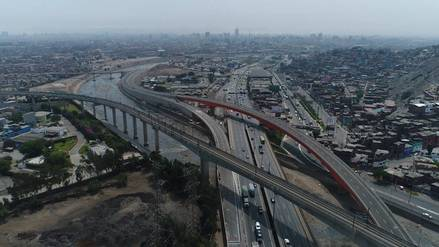 FOTOS   Así luce la Vía Expresa Línea Amarilla que busca reducir los viajes entre Lima y Callao a 20 minutos