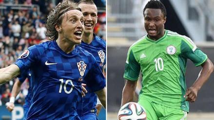Croacia vs Nigeria EN VIVO EN DIRECTO ONLINE: Fecha, horarios y alineaciones probables