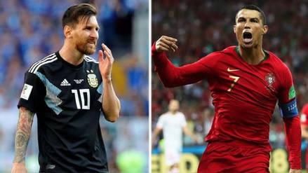 Distinta suerte entre Messi y Cristiano Ronaldo en el debut en Rusia 2018