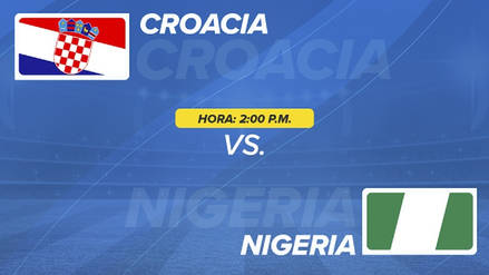 Minuto a minuto | Croacia vence a Nigeria  en el Mundial Rusia 2018