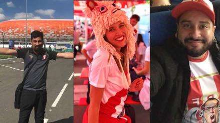 Perú vs. Dinamarca: Famosos peruanos en Rusia ya esperan el debut de la selección