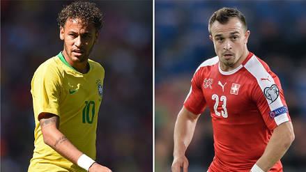 Brasil vs. Suiza EN VIVO: horario, fecha y canal del partido por el Grupo E