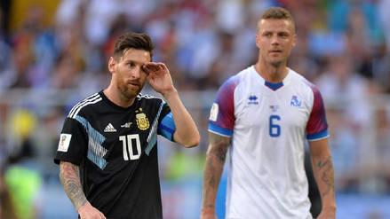 La desazón de Lionel Messi al fallar un penal en el Argentina vs Islandia