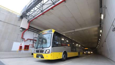Estas son las rutas de buses y las tarifas de la Vía Expresa Línea Amarilla