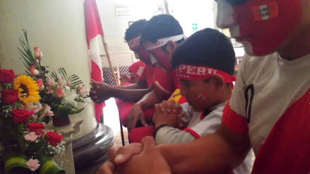 Júbilo y algarabía en Chiclayo tras debut de Perú en el Mundial Rusia 2018