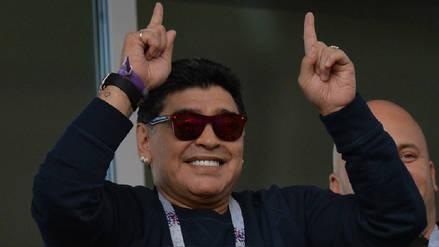 Diego Maradona no le hizo caso a esta norma en el Mundial de Rusia 2018